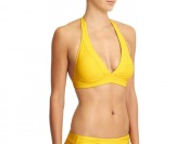76% off Athleta Womens Shirrendipity Halter Bikini Top