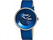 78% off Crayo Button Blue Watch