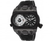 91% off Elini Barokas Genesis World Dual Time IP Stainless Steel Watch