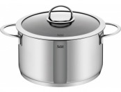 79% off Silit Vignola High Casserole with Lid - 18/10 Stainless Steel