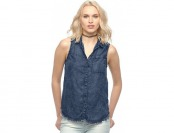 70% off Women's Rock & Republic Acid-Wash Chambray Shirt
