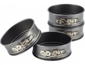 75% off Cake Boss Novelty 4-Pc Mini Springform Pan Set