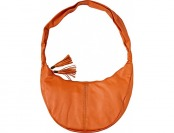 74% off Clava Carmel Whipstitch Hobo Handbags