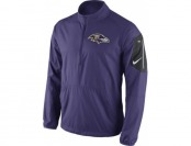 33% off Nike Baltimore Ravens Adult Half-Zip Jacket