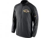 56% off Nike Baltimore Ravens Championship Drive Half-Zip Jacket