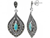 80% off Le Vieux Silver-Plated Teardrop Earrings