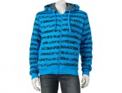 60% off Men's Courage Clothing Co. Striped Fleece Hoodie