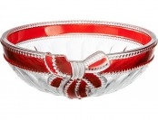 60% off Mikasa Ruby Ribbon Crystal Bowl