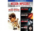 71% off Mission: Impossible - The 5 Movie Collection (Blu-ray)