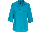 83% off Cathy by Cathy Daniels 3/4 Roll Tab Sleeve Blouse