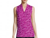 75% off Worthington Sleeveless High-Low Button-Front Blouse
