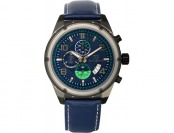 96% off Buech & Boilat Men's Chronograph 'Devon' Watch