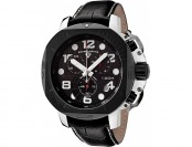 90% off Swiss Legend Scubador Chronograph Leather Watch