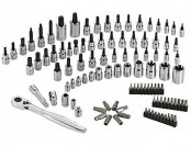 59% off Craftsman 105-PIece Bit Socket Set
