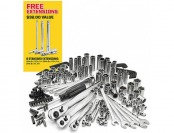 47% off Craftsman 155Pc Mechanics Tool Set with Extension Bar Set