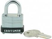 81% off Craftsman 1-1/4 in. Laminated Padlock