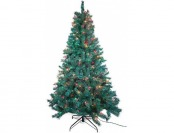 72% off Trim A Home 7' Multicolor Pre-Lit Pine Tree