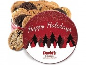 25% off David's Cookies Fresh Baked Cookies Gift Tins