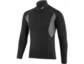 50% off Louis Garneau Men's 3002 Zip Neck Long Sleeve Top