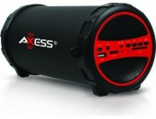 33% off Axess Portable Bluetooth In/Outdoor 2.1 Cylinder Speaker
