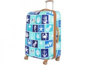 "76% off it luggage 30"" Nautical Warrior Spinner Luggage"