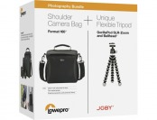 65% off Lowepro Format 160 Camera Bag & GorillaPod Tripod