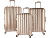 69% off Kensie Luggage 3PC Hard Side Spinner Luggage Set