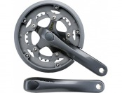 71% off Shimano Claris FC-2450 46x34t 8-Speed Crankset - Silver