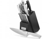 71% off Cuisinart 15-Piece Stainless Steel Hollow Handle Block Set