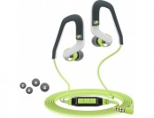 53% off Sennheiser In-Ear Headphones for iOS - Green/Gray