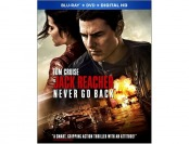 50% off Jack Reacher: Never Go Back Blu-ray Combo