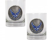 74% off U.S. Air Force 14oz Rocks Glass Set