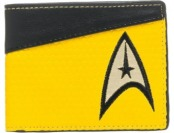 80% off Star Trek Yellow Bi-Fold Wallet