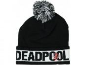 59% off Marvel Deadpool Knit Hat with Pompom