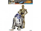 61% off FanWraps Star Wars C-3P0 and R2-D2 Graphic Vinyl Decal