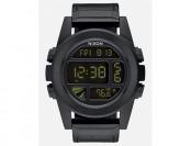 75% off NIXON Unit SS Leather Watch