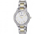 42% off Fossil Women's ES2409 Jesse Two-Tone SS Watch