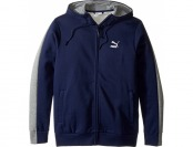 60% off PUMA Evo Core Full Zip (Peacoat) Men's Clothing