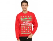 65% off Blink-182 Holiday Sweater Sweatshirt
