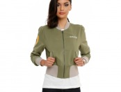 53% off Her Universe Star Wars Boba Fett Girls Bomber Jacket