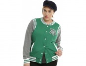 50% off Harry Potter Slytherin Girls Varsity Jacket