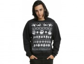 54% off The Nightmare Before Christmas Fair Isle Sweatshirt