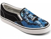 50% off Batman Slip-On Sneakers - Black, M