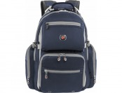 $54 off SwissGear Breaker Laptop Backpack - Gray, Dark navy