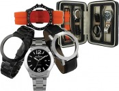 74% off Peugeot 699 4-Pc Men's Interchangeable Watch Gift Set