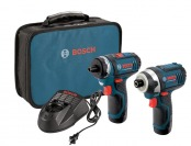 $254 off Bosch CLPK27-120 12-Volt Max Lithium-Ion 2-Tool Combo Kit