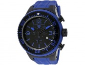 $620 off Swiss Legend Men's Neptune Blue/Black Silicone Watch