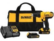 $75 off DeWalt 20-V Max Lithium Cordless Drill/Driver Kit DCD771C2