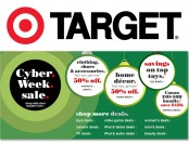 Cyber Week Sale at Target - Shop deals on TVs, cameras, toys & more