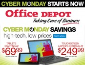 Cyber Monday Savings at Office Depot - While Supplies Last